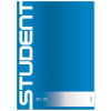 ICO Füzet -7500116002- A/5 sima ICO STUDENT <20db/csom>