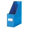 Click&Stor Iratpapucs -60470036- lakkfényű kék CLICK&STORE  LEITZ