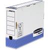 FELLOWES Archiváló doboz 80 mm kék-fehér <10 db/csom> FELLOWES