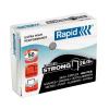 Rapid Tűzőkapocs -24861600- 26/8 horganyzott STRONG RAPID <1000db/dob>