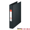 ESSELTE Gyűrűskönyv -47687-STANDARD A5 3, 5cm 2-gyűrűs FEKETEVIVIDA  ESSELTE