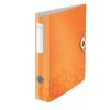 Leitz Iratrendező -11070044- lakkfényű Active wow 180fok A4, 50 mm, narancs LE