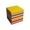 No-name Kockatömb 6x6x6cm színes ragasztott design színek