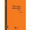 PÁTRIA Név, hely, tárgymutató könyv  100lapos  -C.5230-167A-