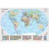 Stiefel Könyöklő Föld országai/Gyermek világtérkép duo66x45 STIEFEL<5db/csom>
