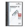 DURABLE Klippmappa -2200/01- 30 lapig fekete Duraclip DURABLE