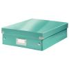 Leitz Rendszerező doboz-60580051- M méret Jégkék CLICK&STORE