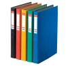 ESSELTE Gyűrűskönyv -17934-RAINBOW A4 4, 0cm 2-gyűrűs PIROS ESSELTE<10db/ dob>