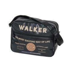 WALKER Oldaltáska-42259-fekete 2 részes AUTHENTIC WALKER