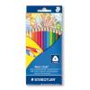 STAEDTLER Színes ceruza háromszögletű 12 db-os NORIS CLUB- 1270 C12 - STAEDTLER