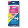 STAEDTLER Színes ceruza NC jumbo12db+1 stylus grafit c. pink-61 SET27- STAEDTLER