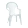 CURVER Bonaire műanyag kerti szék, fehér színben