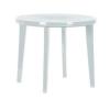 CURVER Lisa műanyag kerti asztal, fehér színben