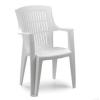 Báthory Háztartási és Műanyagáru ARPA karfás szék fehér színben