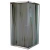 Leziter Spirit BAMBOO 80x80 szögletes zuhanykabin, zuhanytálca nélkül