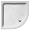 Sapho GSI 448011 íves kerámia zuhanytálca, 80X80X11 cm-es méretben