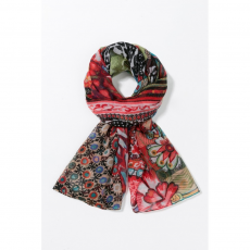 Desigual Foulard Rectangle Casilda Sál,kendő D (67w54b9-p_3062-Fuxia Magico)