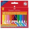 Radírozható Jumbo zsírkréta 12db-os szett Faber-Castell