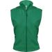 KARIBAN női mikropolár mellény, zöld
