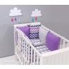 Prémium rácsvédő párnák 2 részes babaágyneművel 2-es kollekció