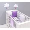 Prémium rácsvédő párnák 2 részes babaágyneművel 24-as kollekció