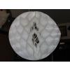 Darázsfészkes gömb, papír 40 cm fehér