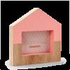 DEDRA Faház képkeret - rózsaszín (Faház képkeret - rózsaszín)