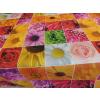 élénk színes virágos teflonos terítő/Cikksz:0210233