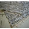 Drapp szürke csíkos rongyszőnyeg 75cm széles/Cikksz:0510493