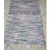 Szürke mályva fehér rongyszőnyeg 55cm széles/Cikksz:0510019