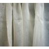 Ecrü organza függöny maradék, elegáns, magában mintás 75x330cm/015/Cikksz:1240383