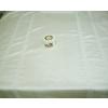 Alkalmi terítő törtfehér, organza csíkkal/0015/Cikksz:01210360