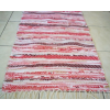 Piros csíkos rongyszőnyeg 55cm széles/Cikksz:0510411
