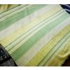 Szőttes indiai ágytakaró, sárga-zöld/Cikksz:03120072