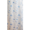 Kék fehér mintás mart organza méterben/0016/Cikksz:01140323