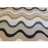 Barna hullámos vászon maradék 55x54cm/0016/Cikksz:1231701
