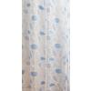 Kék fehér mintás mart organza kész függöny/0016/Cikksz:01130891