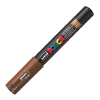 Dekormarker UNI POSCA PC-1M 0.7-1 mm, kúpos, BARNA
