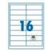 SilverBall etikett címke 99,1x33,9 mm 16 címke/lap (100 lap/doboz)