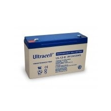 Ultracell AU-06120 6V12Ah akkumulátor biztonságtechnikai eszköz