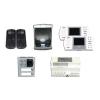 FARFISA ACI FARFISA FA/EH9161PLCW/2 kihangosítós, kétlakásos, színes video kaputelefon szett