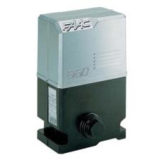 Faac F109864 860 MC CAT elektromechanikus tolókapu motor beépített vezérléssel (FAAC 826MPS), kihajtás nélkül láncos hajtáshoz, önzáró kivitel hővédelemmel biztonságtechnikai eszköz