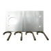 Faac F490059 Talapzat lemez a 620 SR és 640 típusú sorompóhoz, a sorompóház földhöz rögzítésére