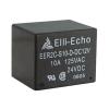 DIAMEC EER2-12 12 V-os relé morze: 10A. - Téglatest alakú beforrasztható kivitel, megbízható, gyors és biztos működés, hosszú élettartam.