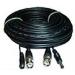 IdentiVision CCTV kábel, ICA-CP10, 10m-es szerelt koax- és tápkábel kamerákhoz