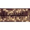 Karácsonyi girland, IP44, kültérre is! 400 db meleg fehér leddel. Life Light led ÚJ!