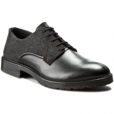 Strellson Félcipő STRELLSON - New Browne Derby Lace 4010001999 Black 900