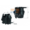 MAHLE ORIGINAL (KNECHT) MAHLE ORIGINAL KL779 üzemanyagszűrő