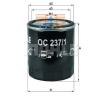 MAHLE ORIGINAL (KNECHT) MAHLE ORIGINAL OC237/1 olajszűrő