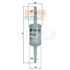 MAHLE ORIGINAL (KNECHT) MAHLE ORIGINAL KL150F üzemanyagszűrő